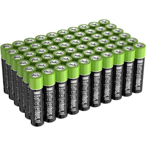 AAA Alkaline Batterijen 60x