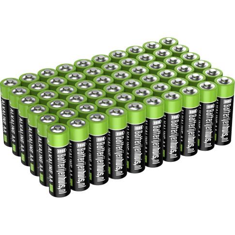 AA Alkaline Batterijen 60x