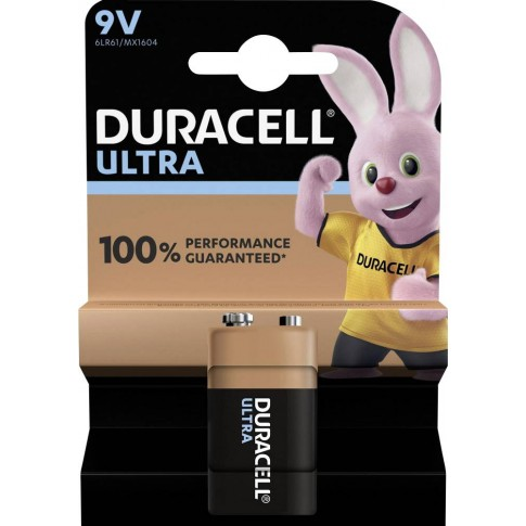 Duracell Ultra Power Alkaline 9v