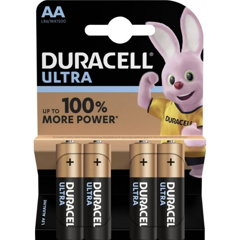 Duracell Ultra Power Alkaline AA 4x