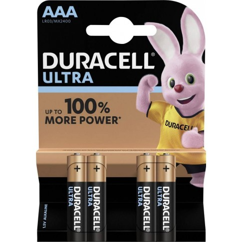 Duracell Ultra Power Alkaline AAA 4x