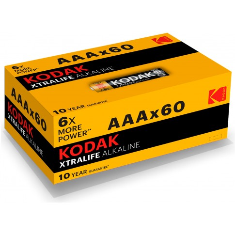 Kodak AAA Xtralife Alkaline 60x
