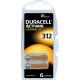 Duracell DA312 6x