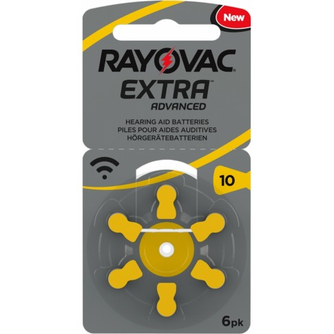 Rayovac extra advanced type 10 6x