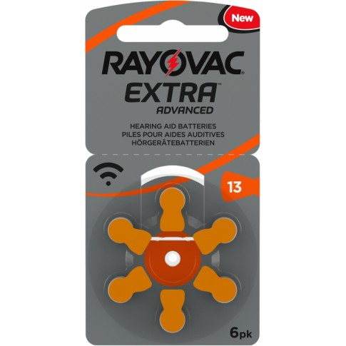 Rayovac extra advanced type 13 6x