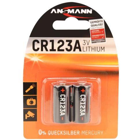 Ansmann CR123A 2x