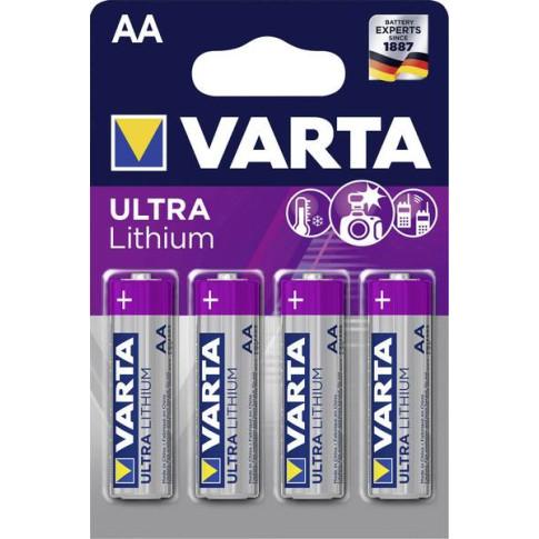 Varta AA lithium 4x