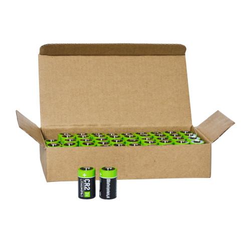 CR2 batterijen bulk 50x