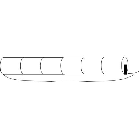 Noodverlichtingsaccu Sub-C Stick 7.2V 1.5Ah