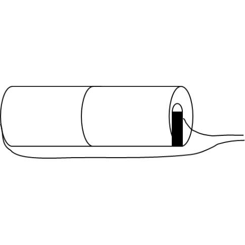 Noodverlichtingsaccu D Stick 2.4V 4.5Ah