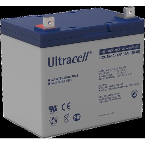 Ultracell gel accu 12v 35Ah