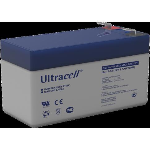 Ultracell loodaccu 12v 1,3Ah