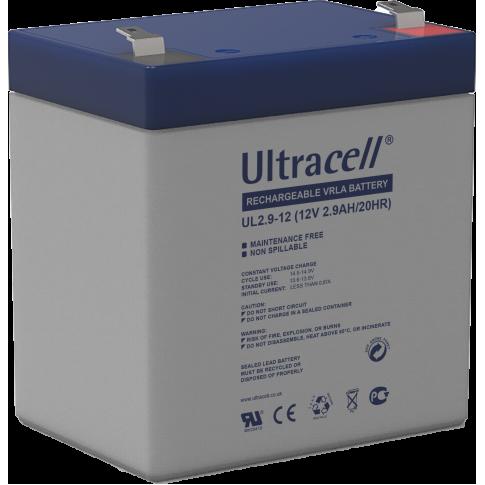Ultracell loodaccu 12v 2,9Ah