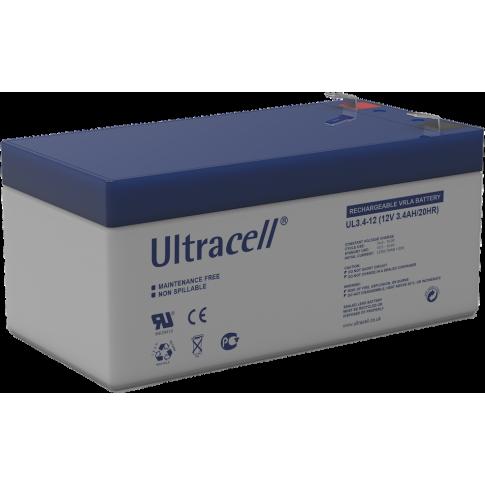 Ultracell loodaccu 12v 3,4Ah