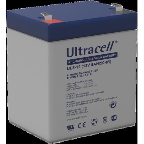 Ultracell loodaccu 12v 5Ah