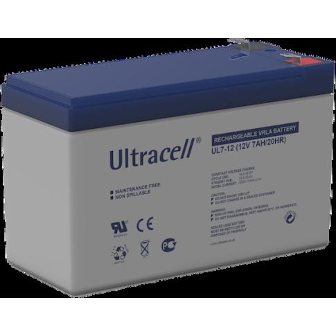 Ultracell loodaccu 12v 7Ah