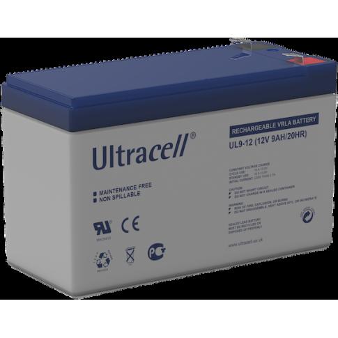 Ultracell loodaccu 12v 9Ah