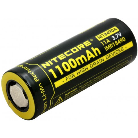 Nitecore IMR18490 Li-ion NL18490A 1100mAh