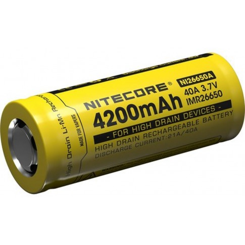Nitecore IMR26650A Li-ion 4200mAh