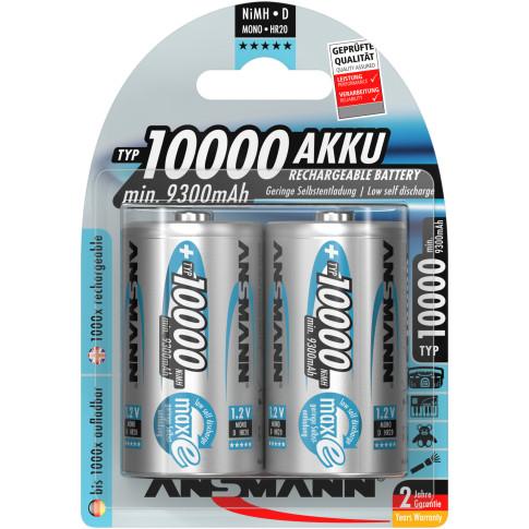 Ansmann D 10.000mAh 2x