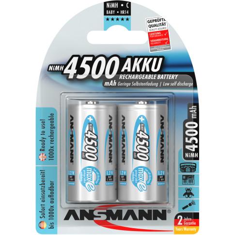 Ansmann maxE C 4500mAh 2x