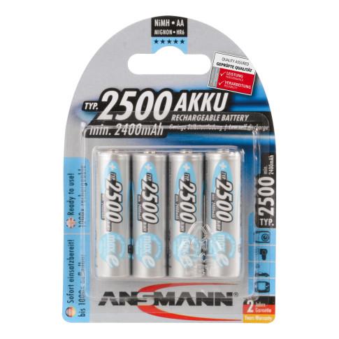 Ansmann AA maxE 2500mAh 4x