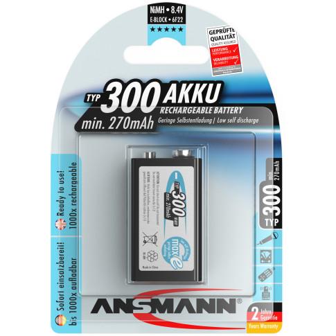 Ansmann 9V 300mAh