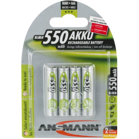 Ansmann maxE AAA 550mAh 4x