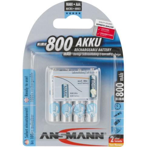 Ansmann maxE AAA 800mAh 4x