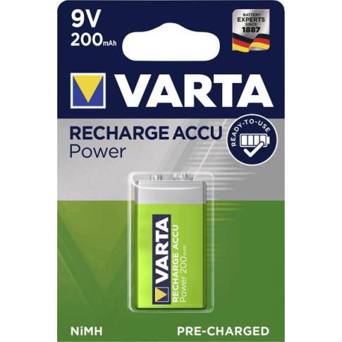 Varta 9V 200mAh Ready2Use