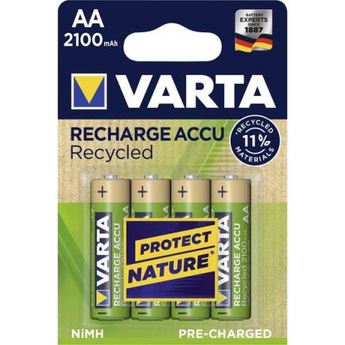 Varta AA Recycled 2100mAh 4x