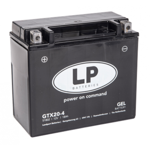 Landport GEL Startaccu 12V 18Ah MG GTX20-4
