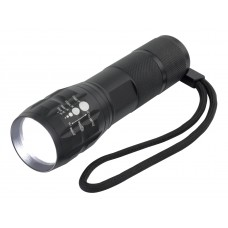 Hycell Aluminium Zoom Flashlight 5W