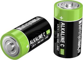 C alkaline batterijen