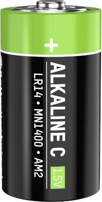C cell batterij