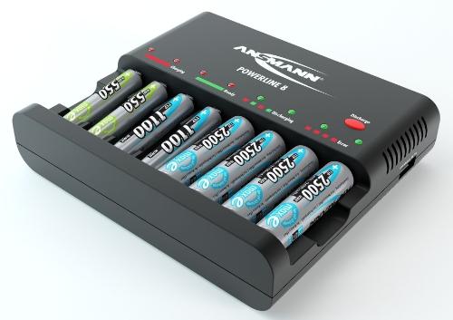 oplader AA batterijen
