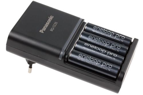 snellader AA batterijen