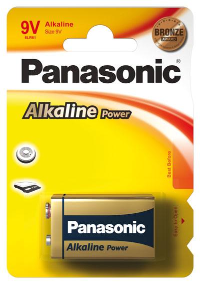 Panasonic Alkaline Power 9v blok