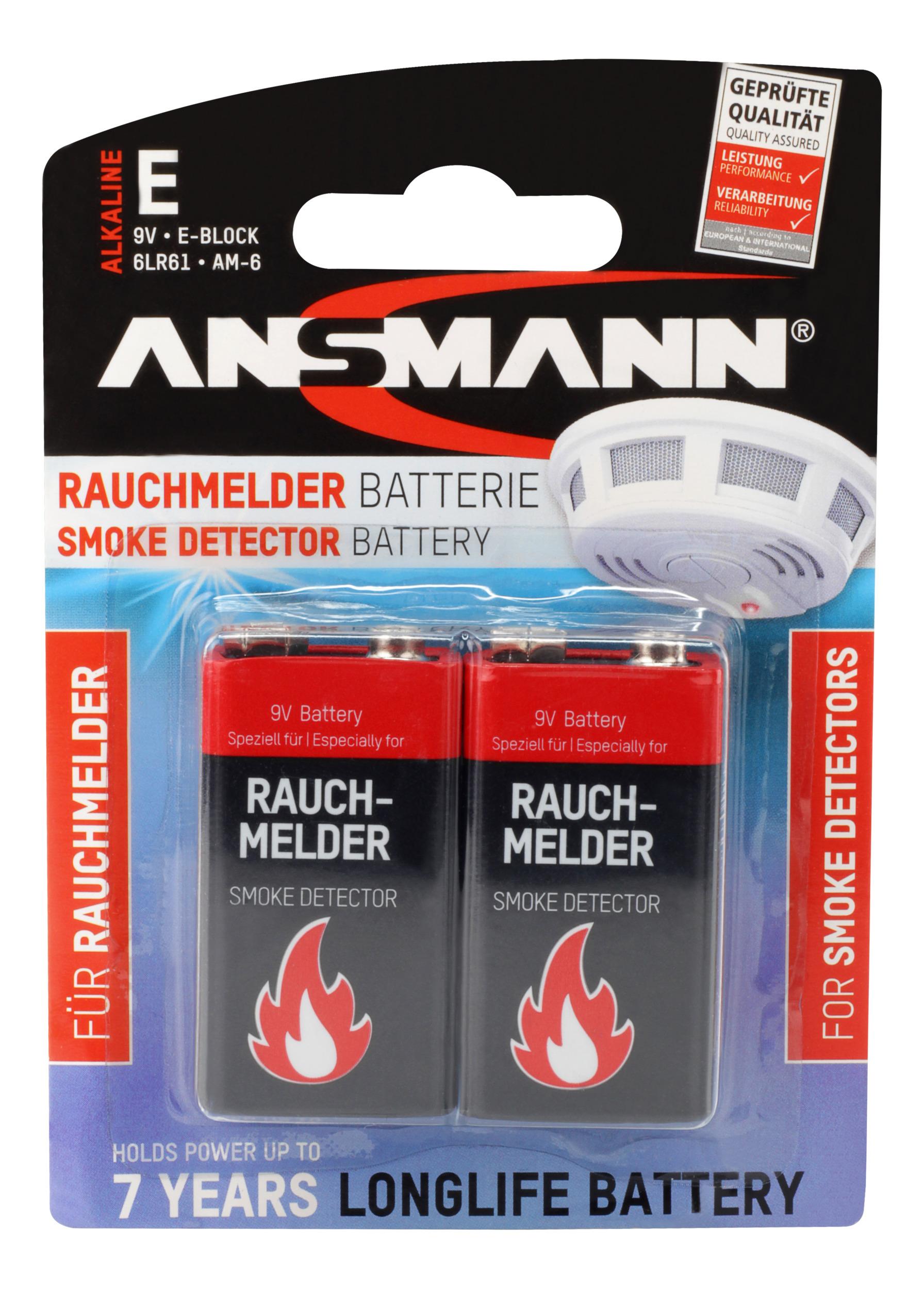 Ansmann 9V Alkaline 2x