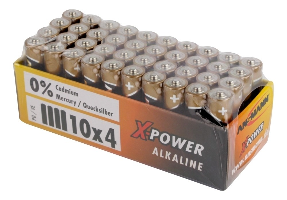 Ansmann AAA X-Power Alkaline 40x