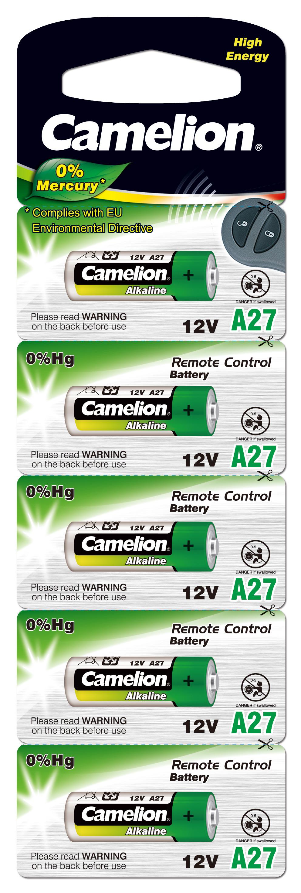 Camelion A27 5x