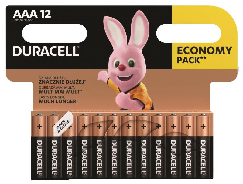 Duracell AAA Alkaline 12x