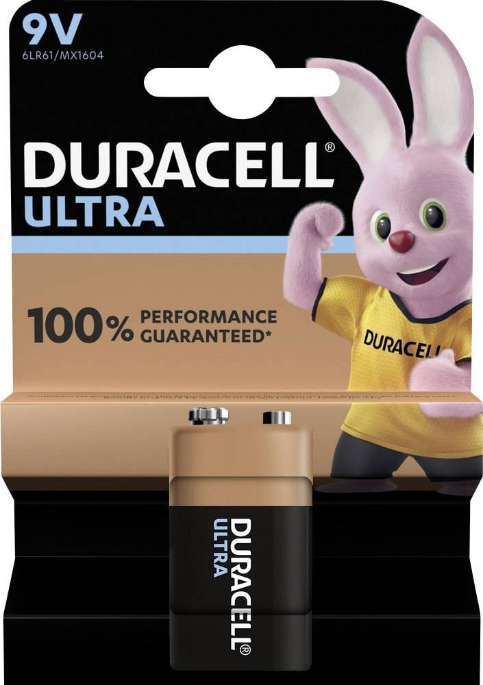 Duracell Ultra Power Alkaline 9v
