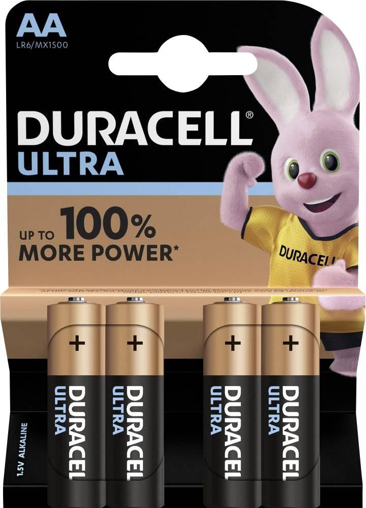 Duracell Ultra Power Alkaline AA 4x