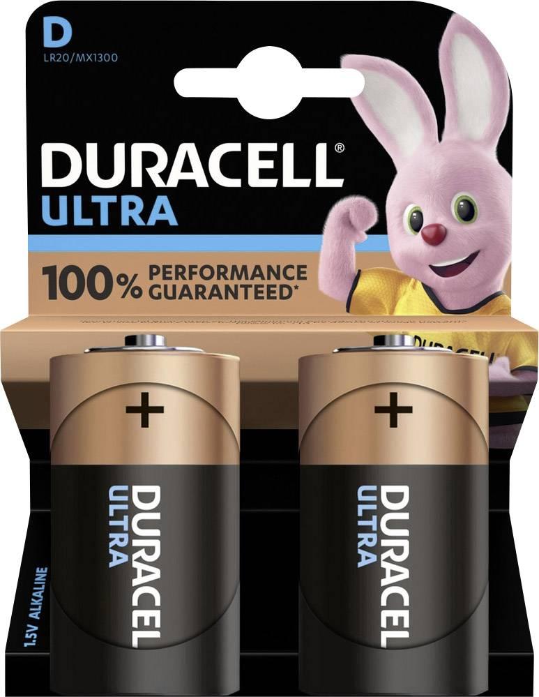 Duracell Ultra Power Alkaline D 2x