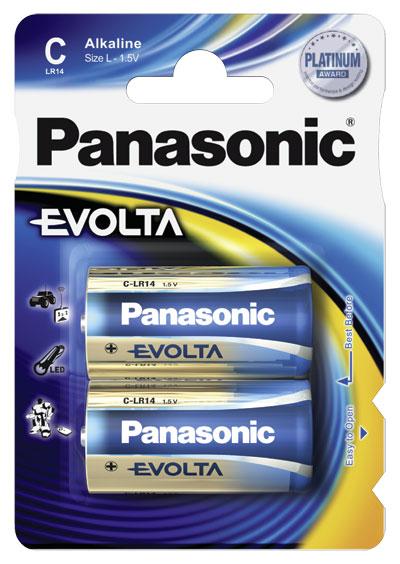 Panasonic Evolta Alkaline C 2x