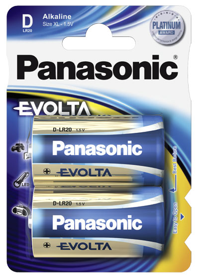 Panasonic Evolta Alkaline D 2x