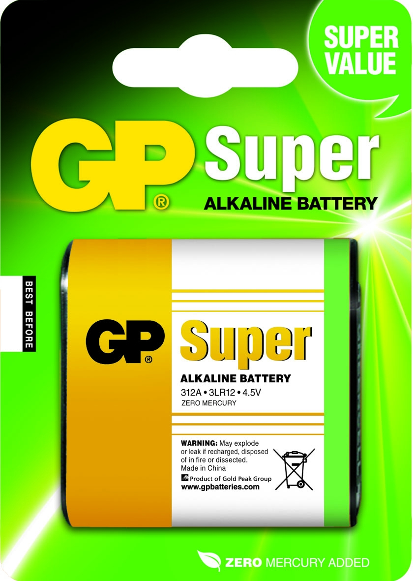 GP Super Alkaline 3LR12