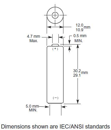 LR1 batterij