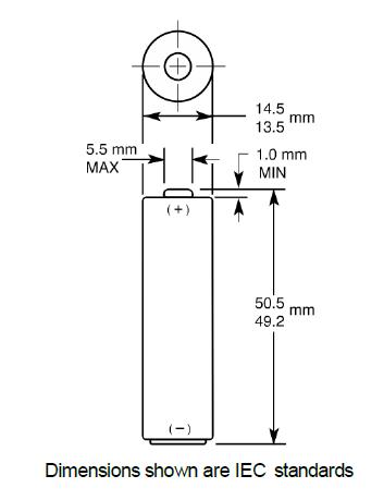 lr6 batterij